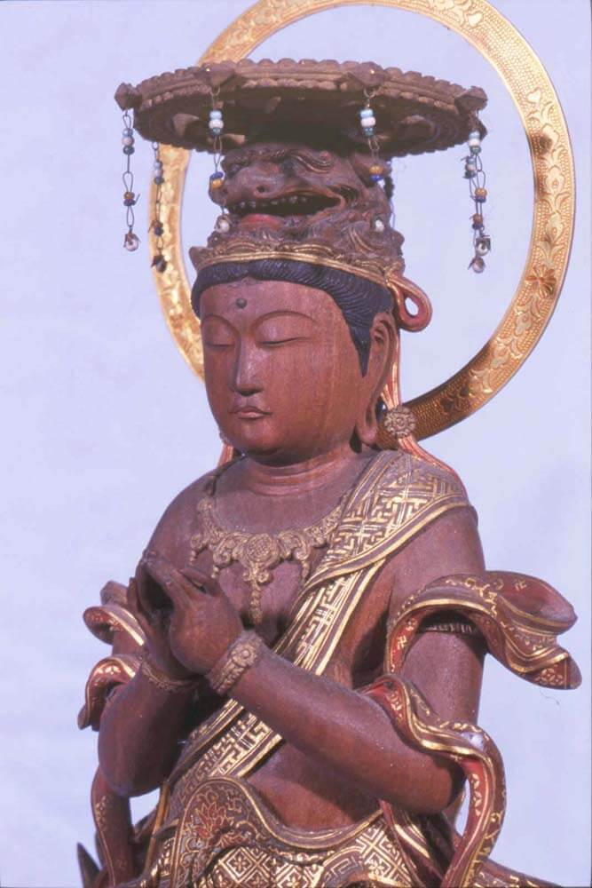 宝山寺仏眼仏母尊像